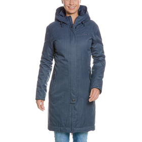 Tatonka Floy Cappotto Donna, matt blue
